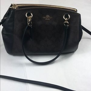 Coach New York Like New Brown Shoulder Purse